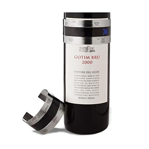 Thermomètre bouteille de vin gadget insolite
