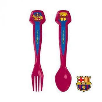 Couverts pour enfants FC Barcelone gadget insolite pour enfant