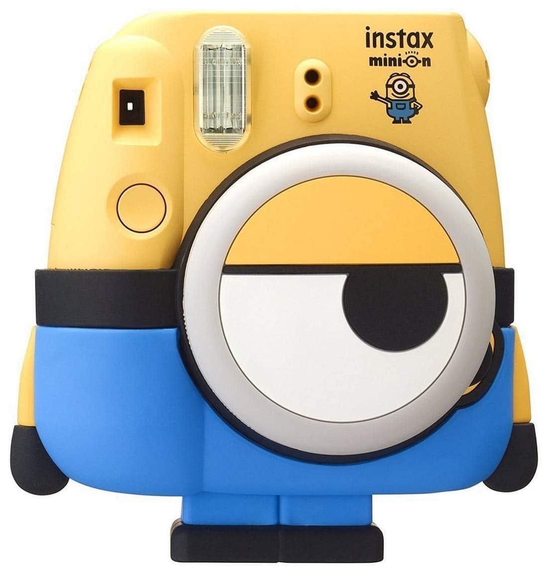 ppareil photo instantané Fujifilm Instax Mini 8 Minion gadget insolite