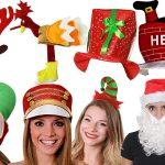 Chapeaux et bonnets de Noël