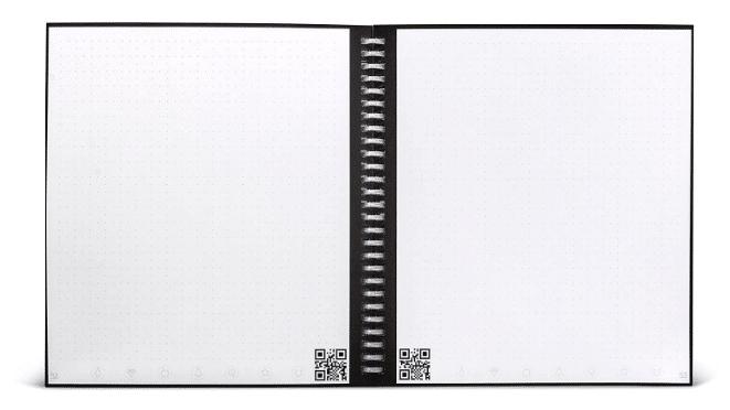 Cahier intelligent réutilisable Rocketbook Wave gadget insolite