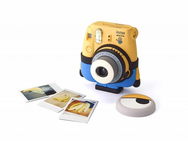 Appareil photo instantané Fujifilm Instax Mini 8 Minion gadget insolite