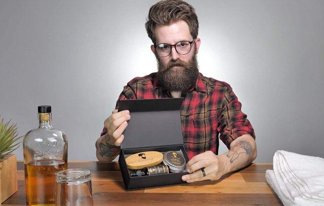 Kit pour barbe objet insolite