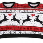 Sweat de Noël double et pull de Noël pour femme