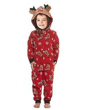 Pyjama Noël enfant vêtement insolite