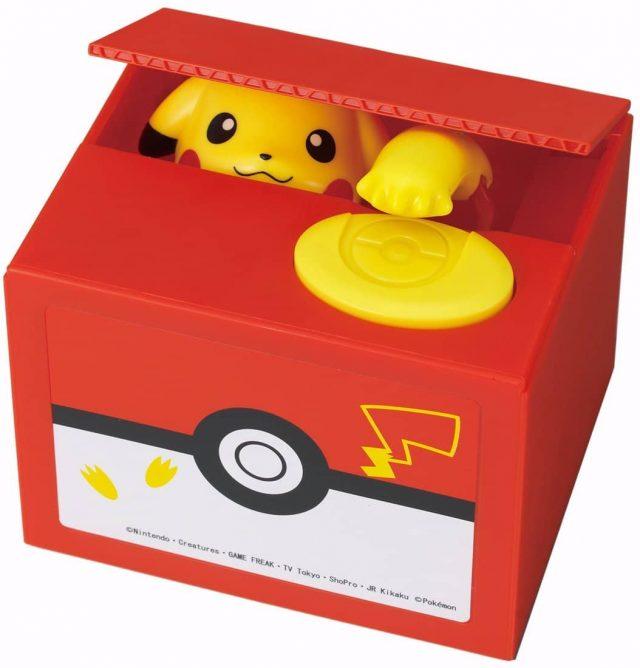 Tirelire Pikachu insolite geek