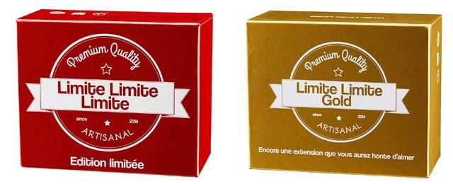 Jeux de société Limite Limite Limite et Limite Limite Gold