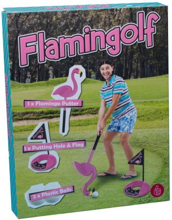 Flamingolf, le jeu de golf flamand rose