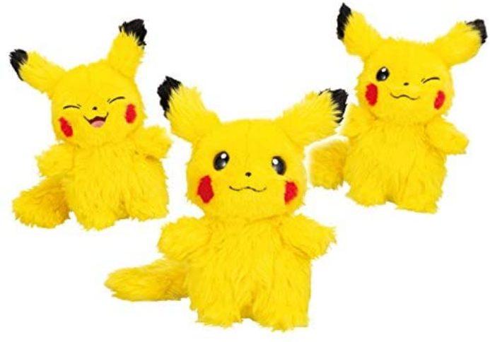 "Peluche Pikachu ""Who are you"" de Sega"
