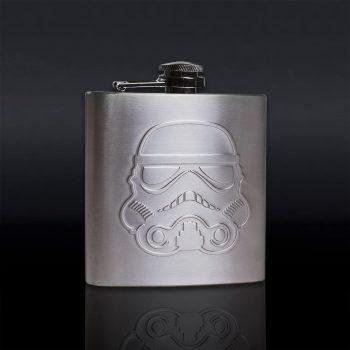 Flasque Star Wars en acier inoxydable
