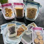 Sacs alimentaires réutilisables
