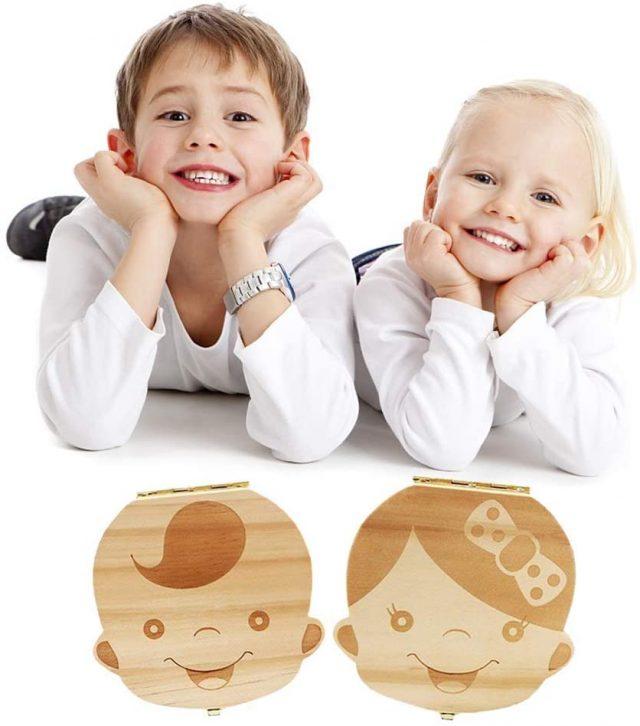 Boîte à dents de lait original pour enfant