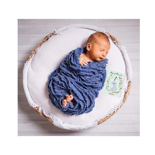 Cartes étapes pour bébé original