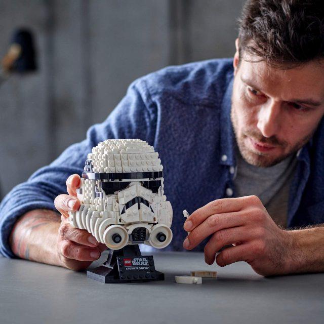 Casque Lego Stormtrooper Star Wars 75276