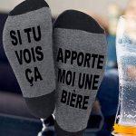 Chaussettes à message humoristique original