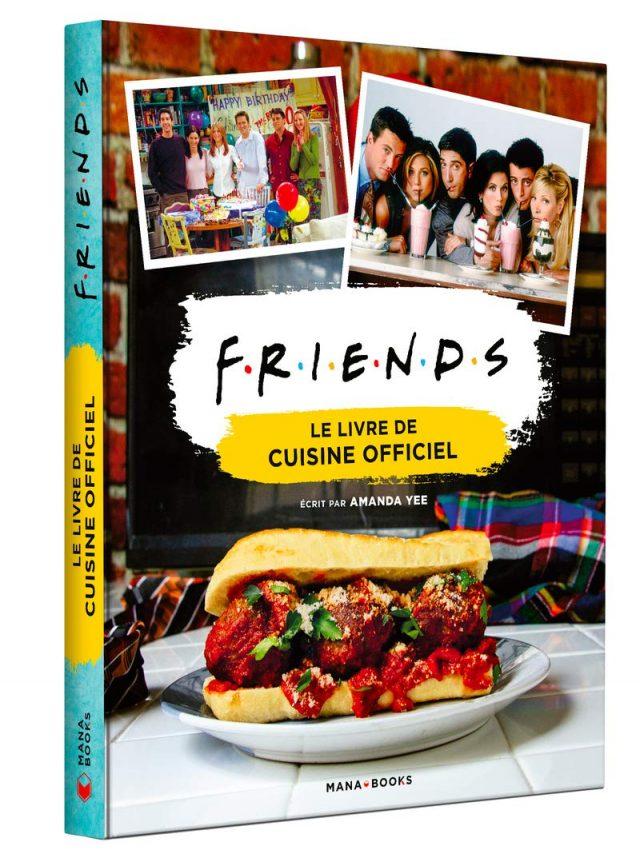 Livre de cuisine Friends original