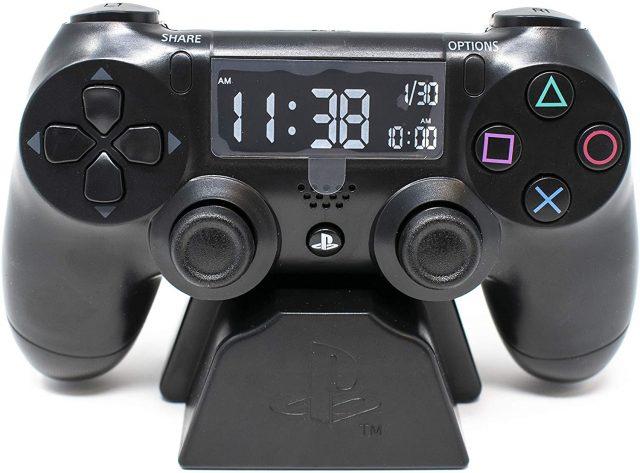 Réveil Playstation 4 LCD original et insolite
