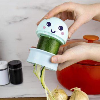 Spiralizer de cuisine méduse insolite