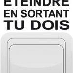 Sticker d'interrupteur Star Wars
