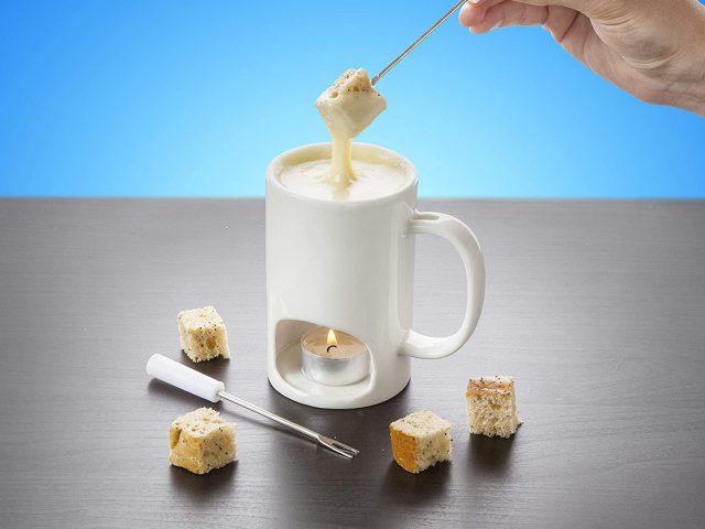 Tasse originale pour fondue au chocolat ou au fromage