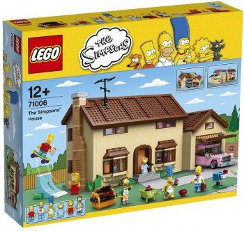 Maison des Simpsons Lego original