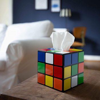 Distributeur de mouchoir original Rubik's Cube